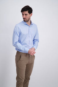 Clean Cool Shirt - Light Blue / S - SKJORTOR - LONG SLEEVE