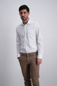 Clean Cool Shirt - White / S - SKJORTOR - LONG SLEEVE