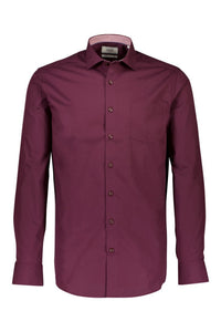 Solid Poplin Shirt - SKJORTOR - LONG SLEEVE 3-220044, 3XL,