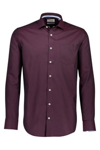 Clean Cool Shirt - SKJORTOR - LONG SLEEVE 3-22852, 3XL, BLÅ,