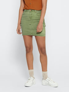 Missouri Life Skirt - Oil Green / 34 - KJOLAR 34, 36, 38,