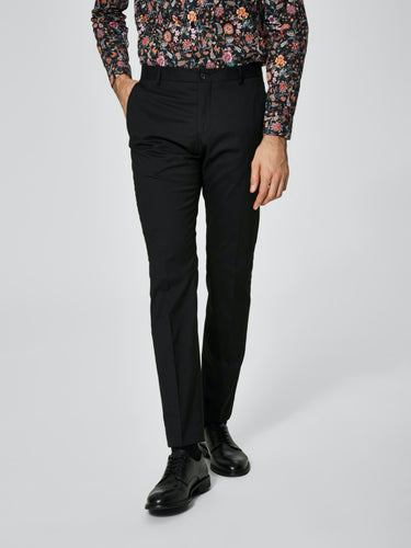 One Mylo Logan1 Trouser Black - Black / 44 - BYXA BYXA,
