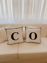 Load image into Gallery viewer, Personalized letter pillow
