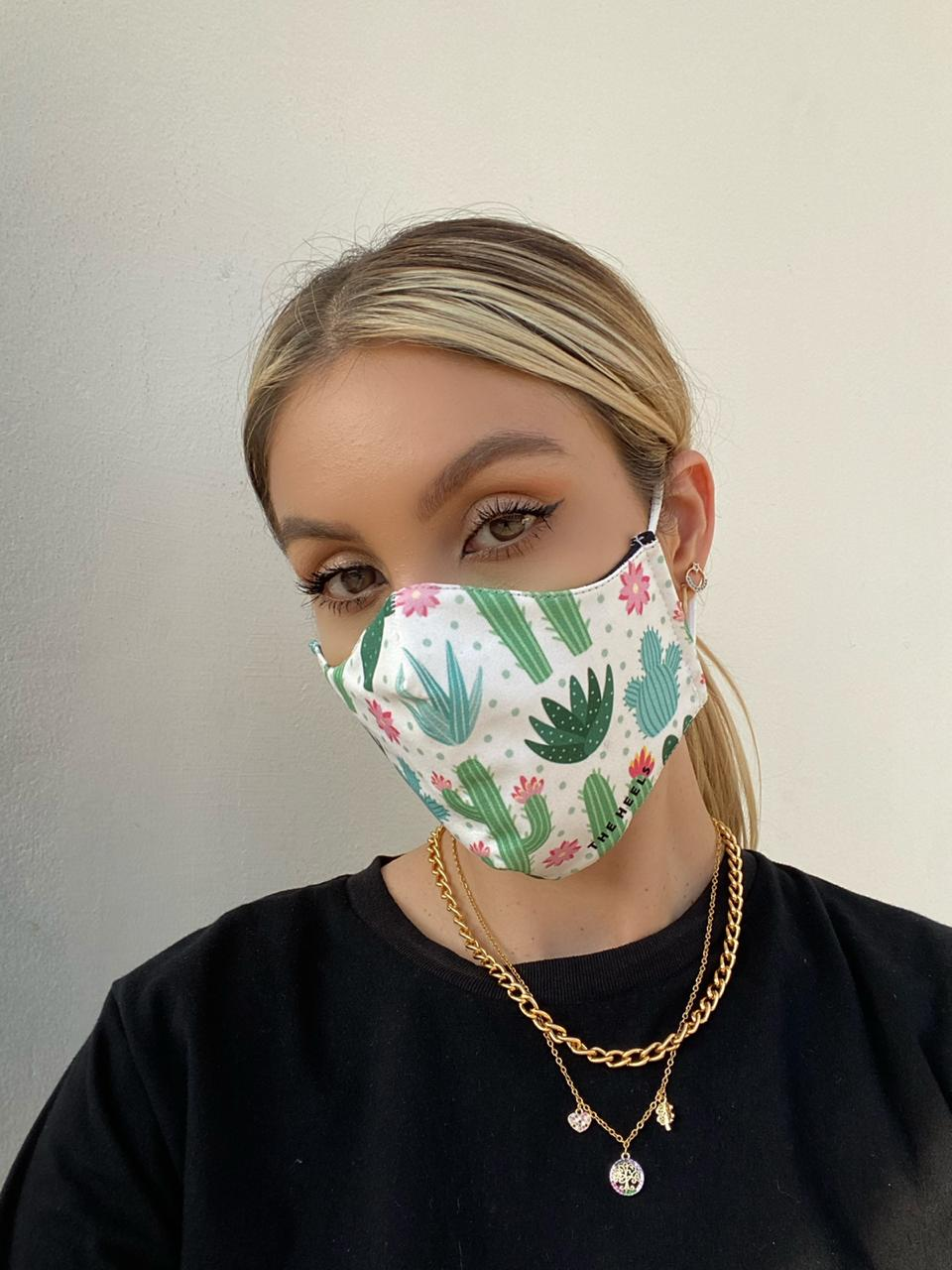 Cactus protective face mask