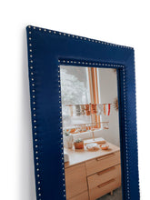 Load image into Gallery viewer, Navy blue mirror