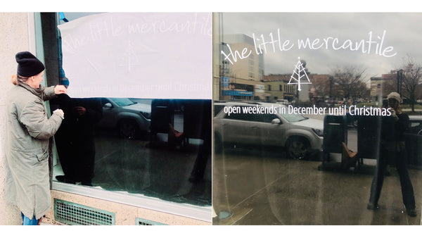 The Little Mercantile @ 540 Spruce Street, downtown Scranton - open weekends in December until Christmas