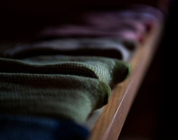 wool cashmere socks, made in the USA | lisa b.