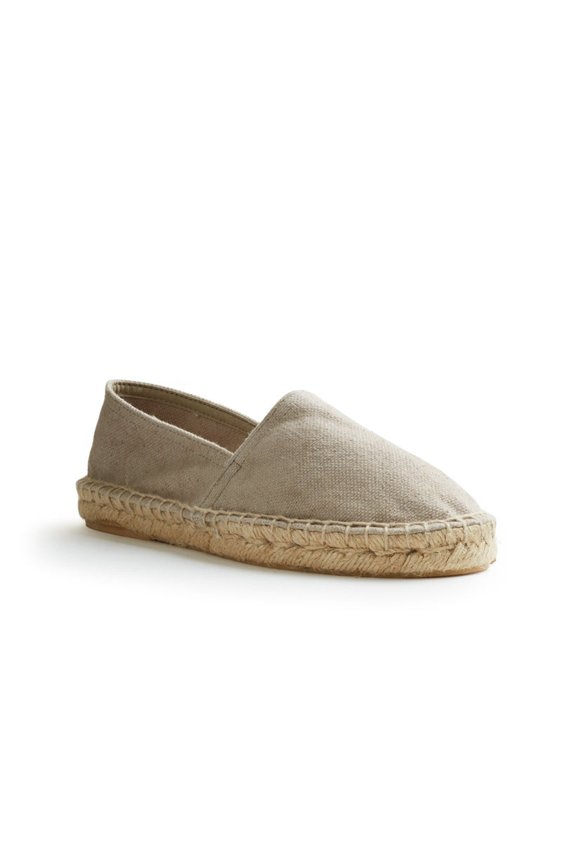men's cotton pique classic espadrille in sand