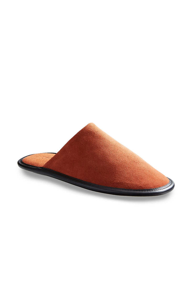 men's spice suede slippers