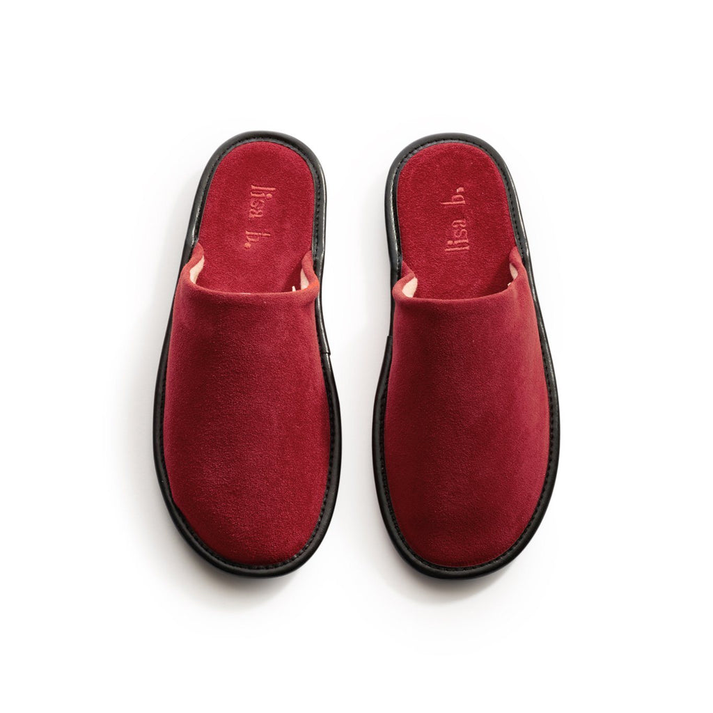 men's sumac suede slippers