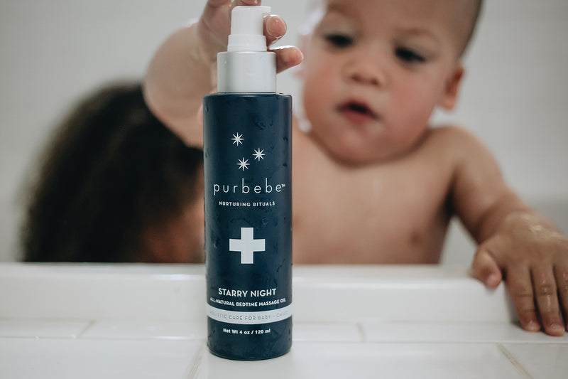 purbebe™  Starry Night™ Bedtime Massage Oil