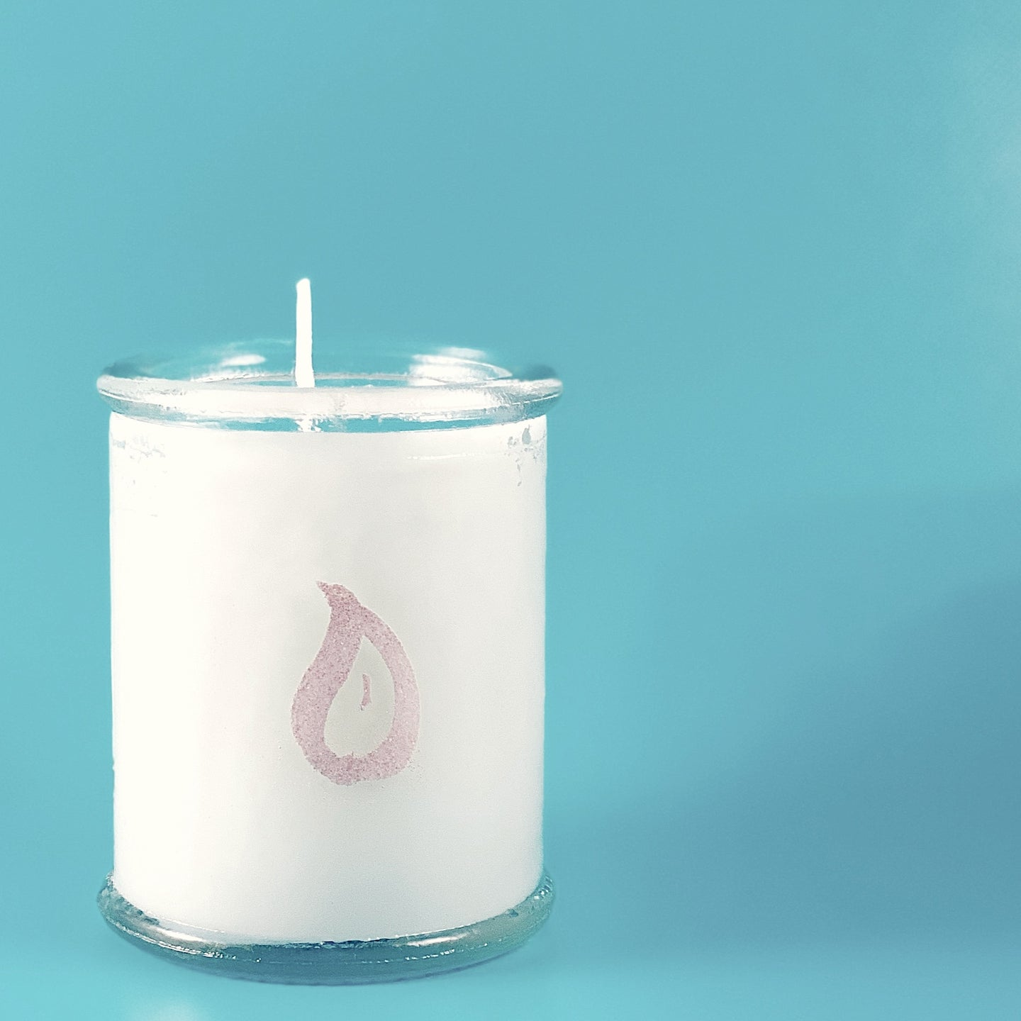 Spanish Glass Soy Votive Candle