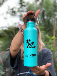 #PartyWithAPurpose Stainless Steel Drink Bottle