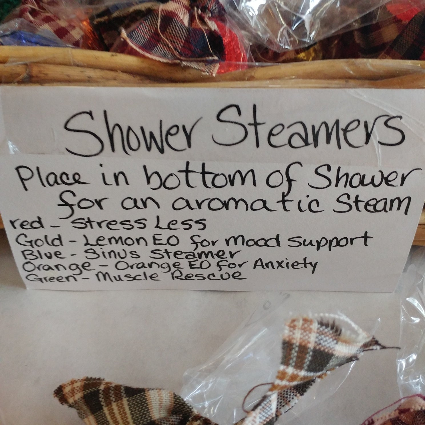 Shower Steamer – Orange EO Immunity Boost/Anxiety Support