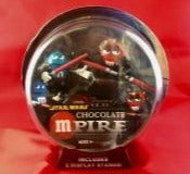 M&M Star Wars Chocolate Mpire candy dispenser NIB