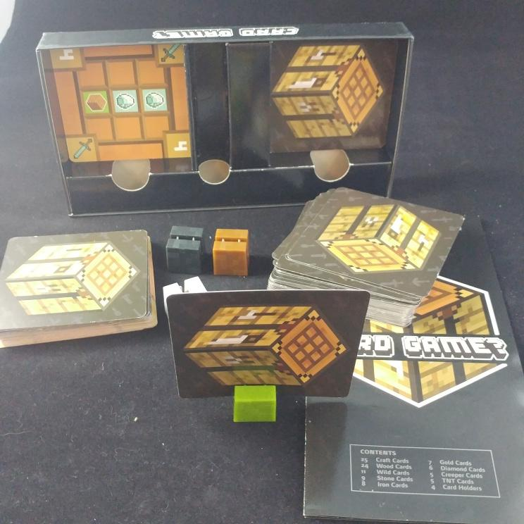 photo of minecraft card game