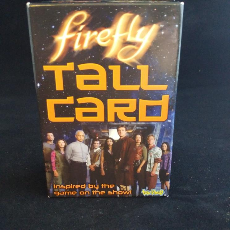 photo of tall card game