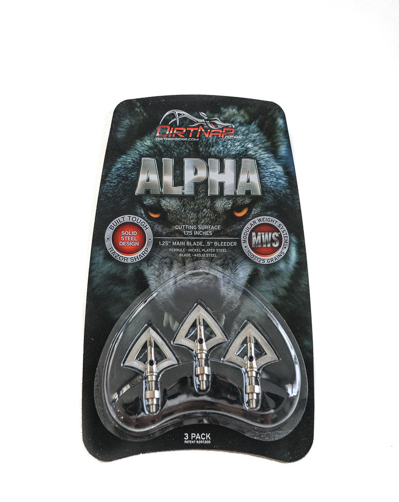 ALPHA 100/125 GRAIN - 3 PACK