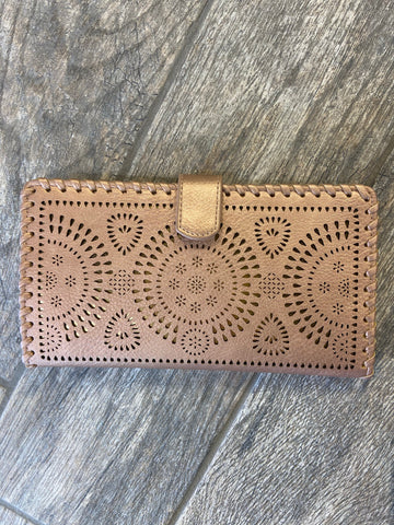 Rose Gold Madison Wallet