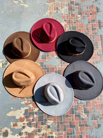 Panama Belted hat