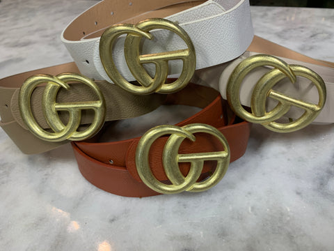 GG Matte Finish Belt