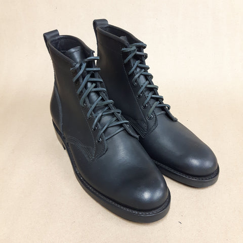 Service Boot - Black Oil Tan