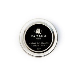 Famaco Black Shoe Cream (Cream Polish)