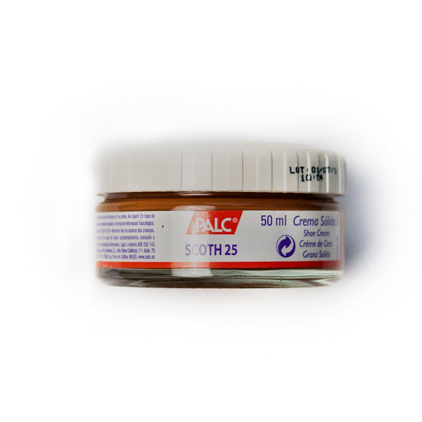 PALC Chestnut Brown Shoe Cream (Cream Polish)