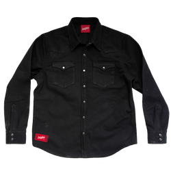 Dayton Canvas 20oz Western Jacket Black