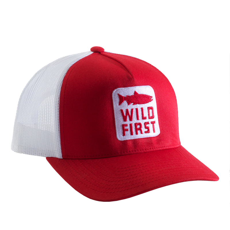 Wild First Snap-Back Cap (Red)