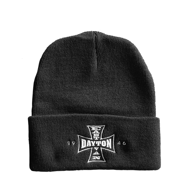 Dayton Cross Toque (Black)