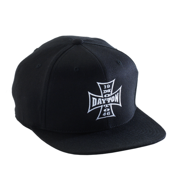Dayton Moto Snap-Back Cap (Black)