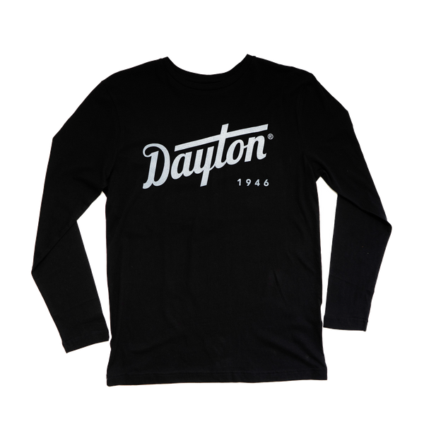 Dayton Script Long Sleeve (Black)