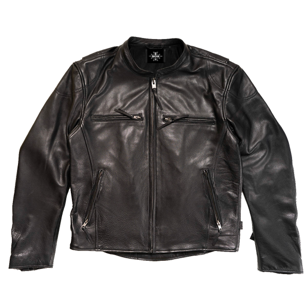 Dayton Leather Biker Jacket