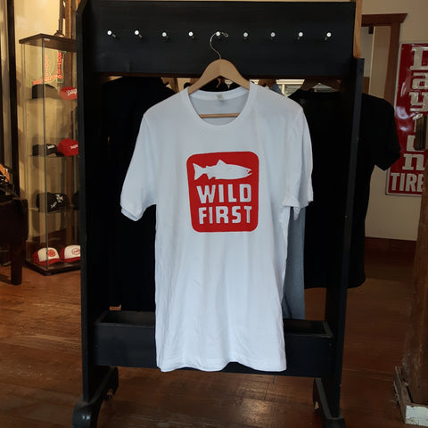 Wild First Tee Shirt - BC Salmon Charity Effort