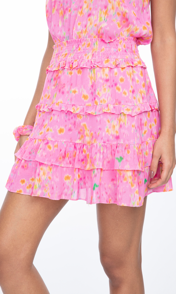 Farrah skirt pink blurry