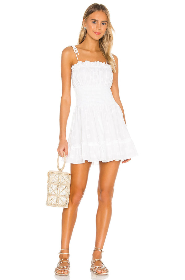 Marrakesh mini dress white