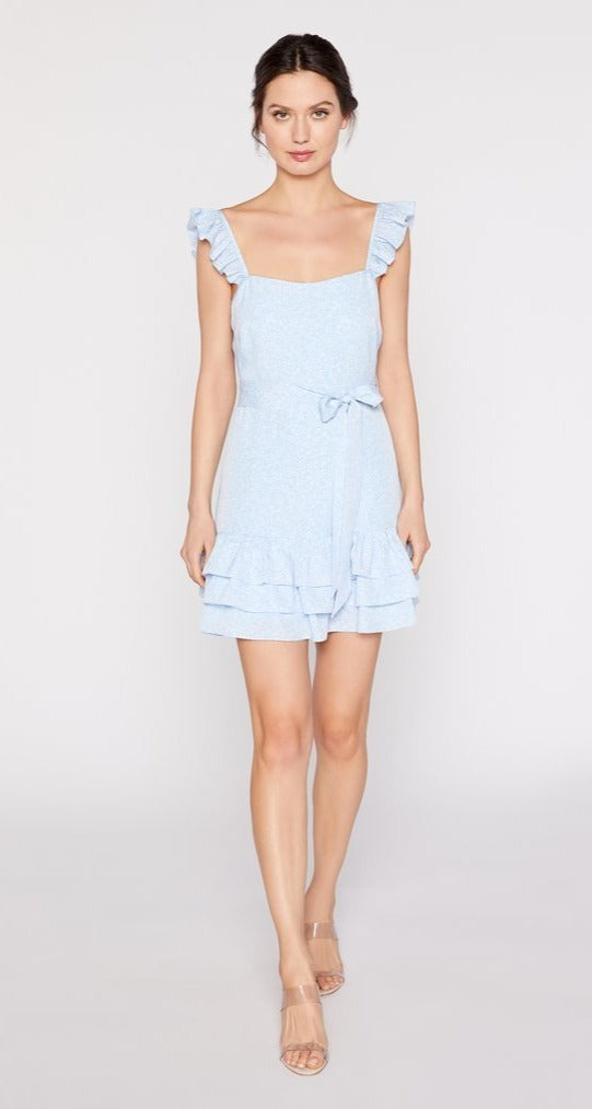 Charlotte Dress Mini Bluebell