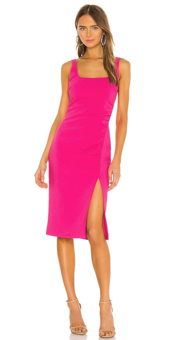Calero Dress Fuscia