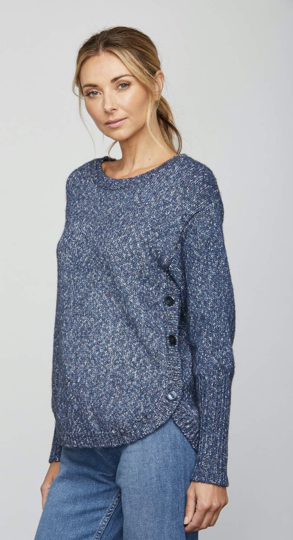 Alder Sweater Military Blue