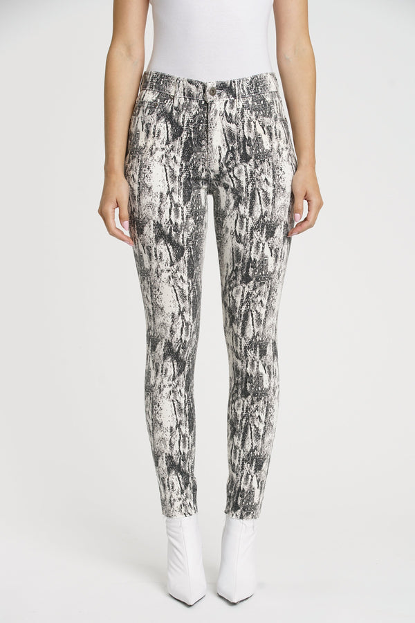 Aline Skinny Denim Winter Snake