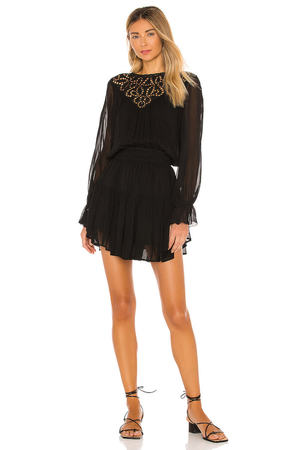 Anabelle Mini Dress Black