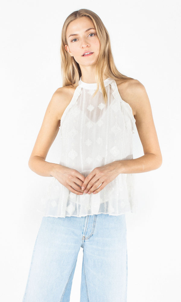 Aria Embellished Top