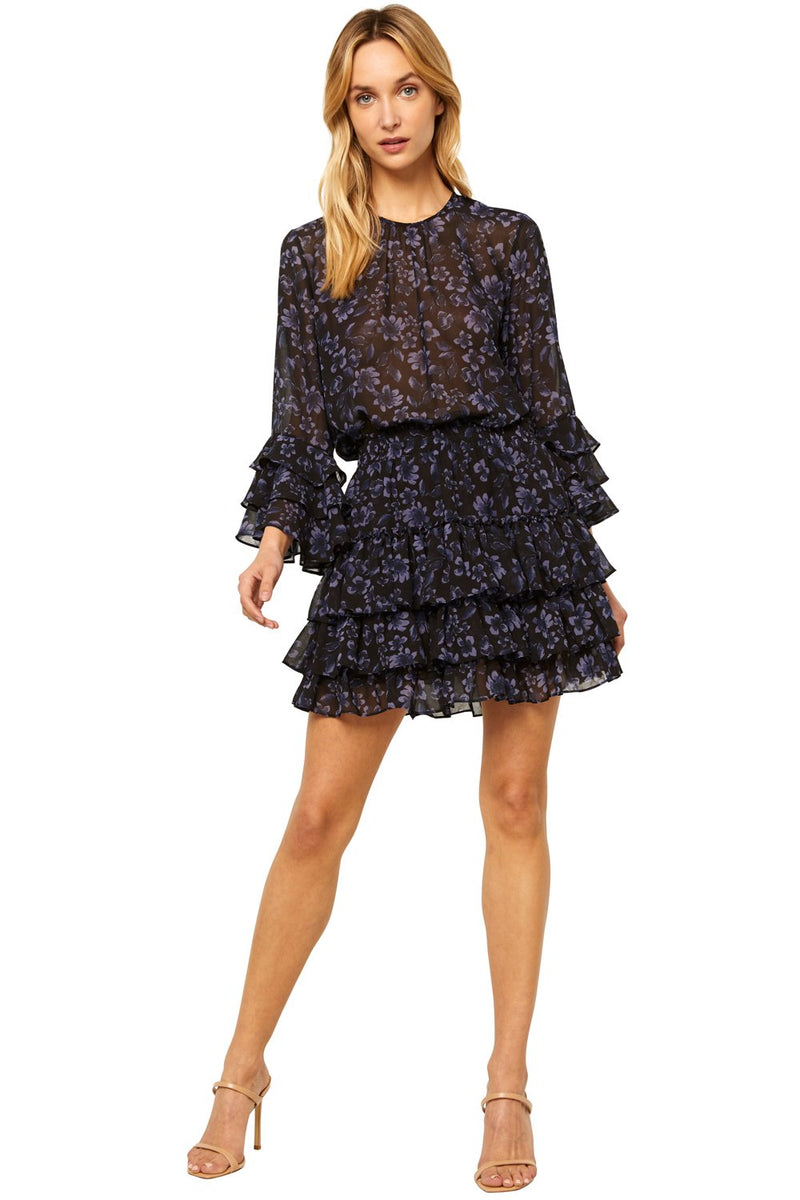 Bernita Dress Midnight Floral