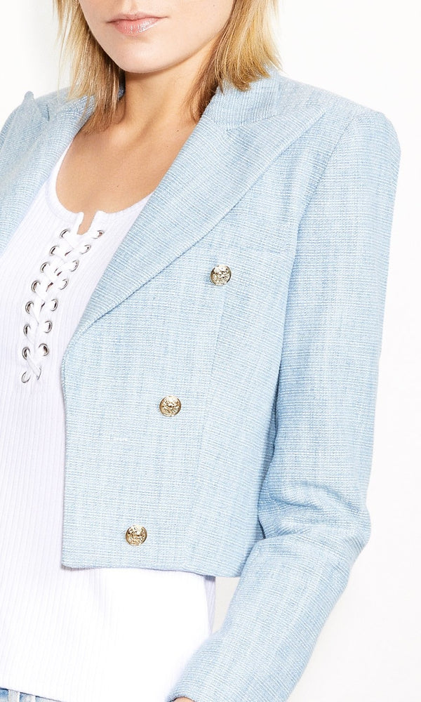Cameron Denim Tweed Jacket