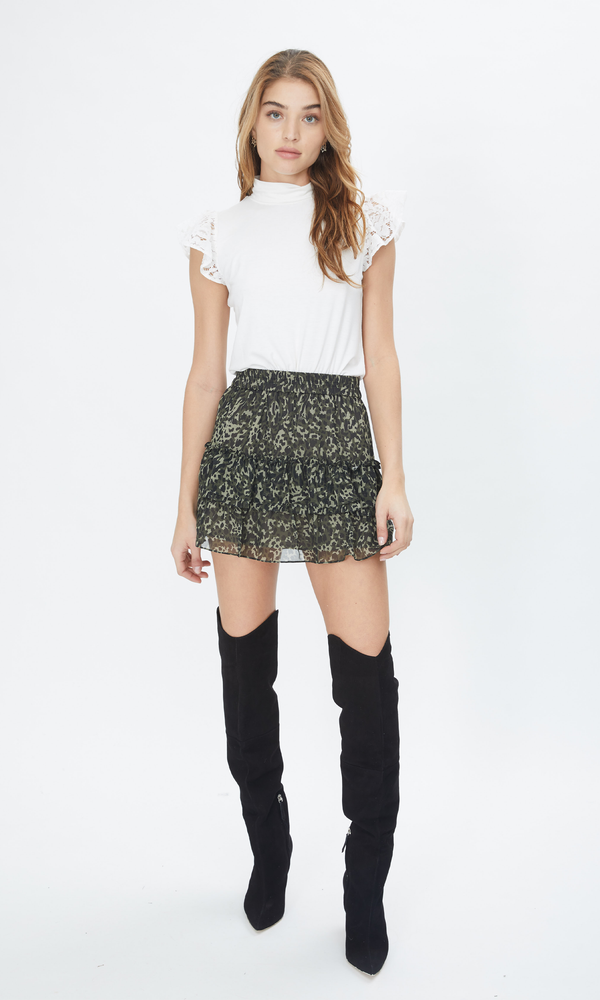 Audrina Hidden Camo Skirt
