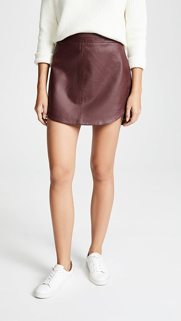 Conrad Skirt Bordeaux