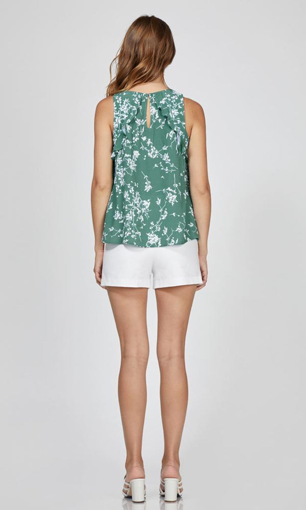 Crissy Floral Sleeveless Top
