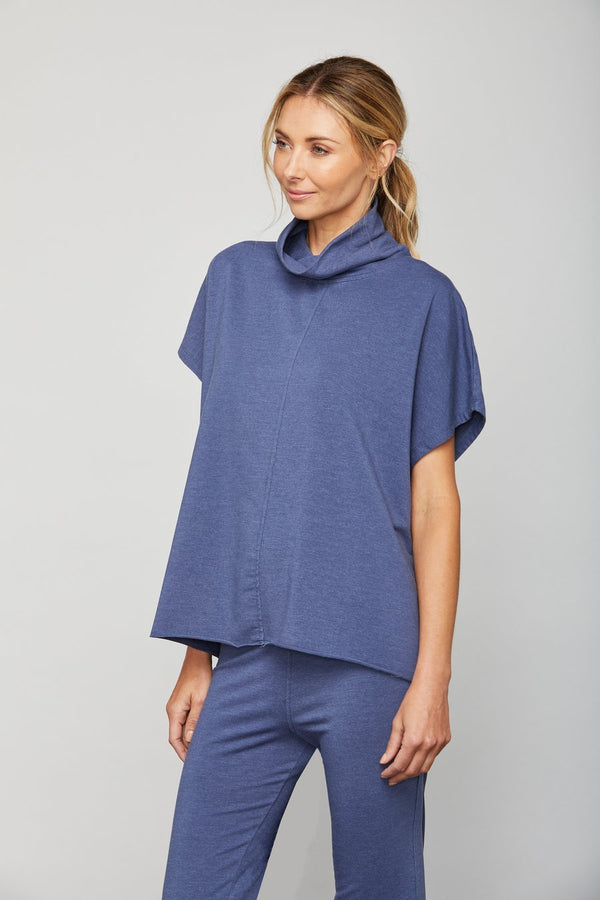 Alani Top Denim Heather
