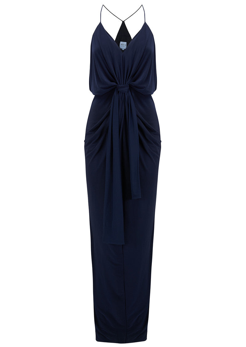 Domino Midnight Maxi Dress